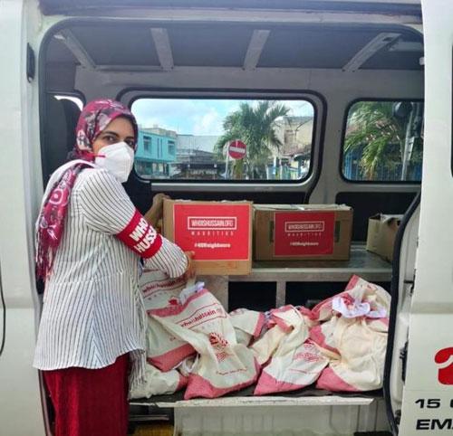 کمپین کمکهای سازمان «حسین کیست؟» به نیازمندان جزیره موریس