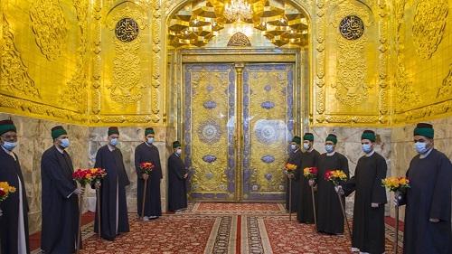 رونمایی از ایوان طلای حرم حضرت ابوالفضل (ع)  همزمان با عید غدیر