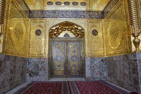 ایوان طلای حرم مطهر حضرت ابوالفضل (ع) / گزارش تصویری