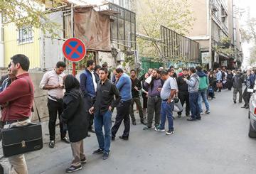 گزارش تصویری از صف طولانی ویزای عراق در تهران