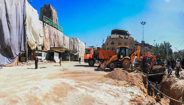 اجرای طرح احداث زیرگذر در حرم حسینی