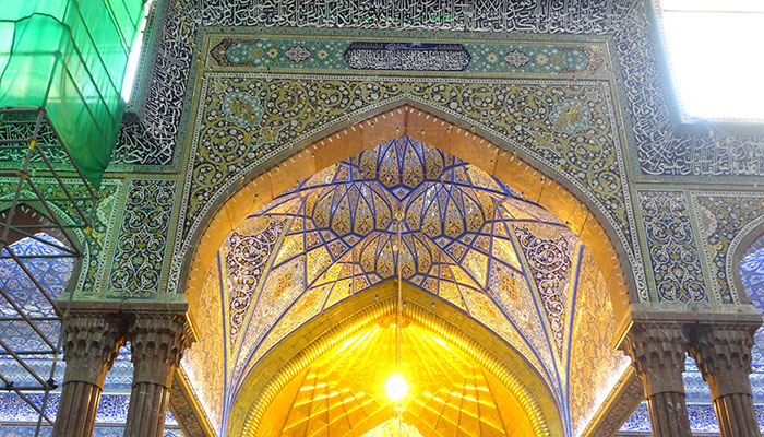 کتیبهای جدید در حرم امام حسین (ع) نصب شد
