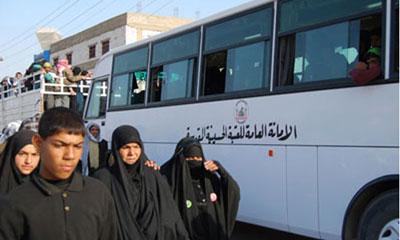 تخصیص ۶هزار خودرو برای حمل و نقل زائران حسینی
