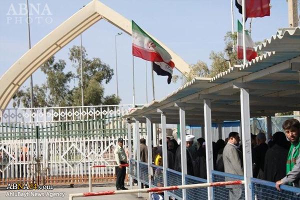 عبور زوار اربعین حسینی از مرز خسروی در دستور کار دولت قرار گرفت