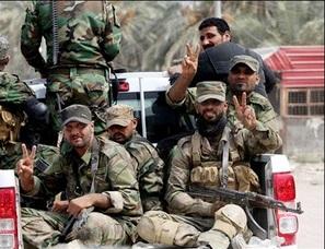 رهایی میدان گازی «شاعر» از چنگال داعش