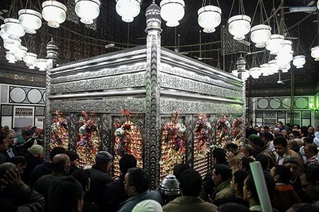 مسجدالحسین (ع)؛ مقام «راس الحسین (ع)» در قاهره