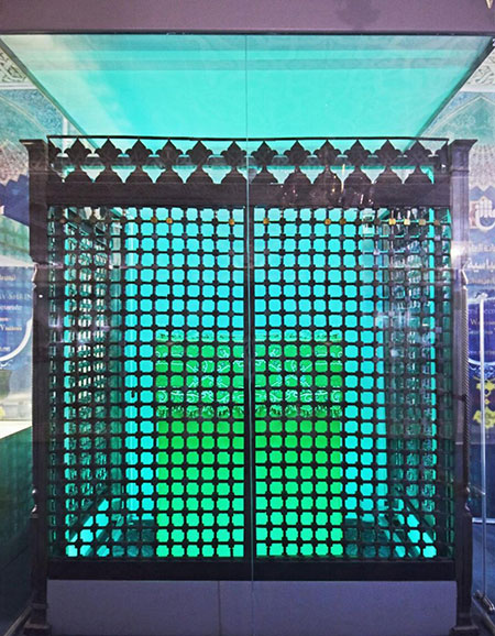 موزه الکفیل میزبان ضریح 250 ساله حرم حضرت ابوالفضل (ع)