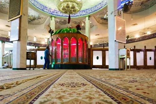 مسجد «حنانه»؛ محل قرار گرفتن رأس الحسین (ع)