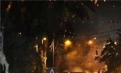 انفجار یک بمب صوتی در کربلا