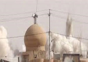انفجار در مقام حضرت علیاصغر علیهالسلام