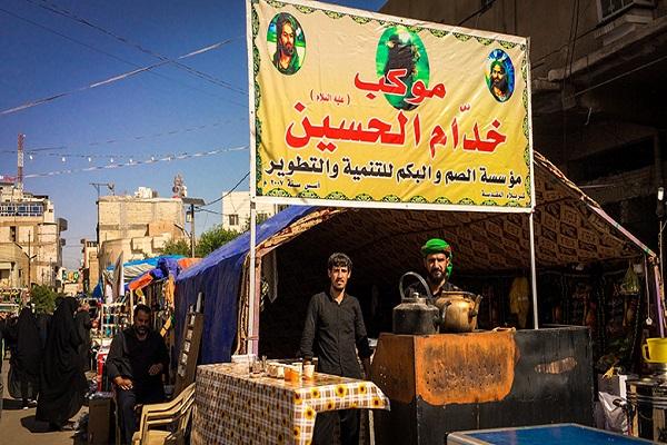 «خدام الحسین»؛ میعادگاه ناشنوایان عراقی برای خدمت به زائران