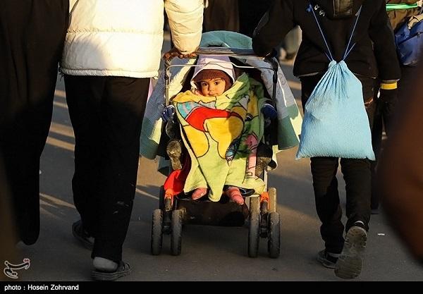تصاویر راهپیمایی شیعیان از نجف به کربلا