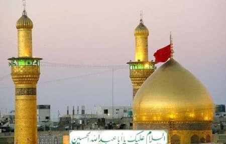 گنبد حرم امام حسین علیه السلام در کرمان ساخته می شود