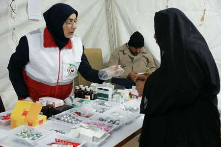 تمهیدات ویژه هلال احمر برای زائران نوروزی عتبات
