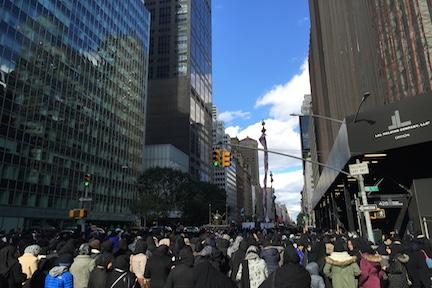 برگزاری آیین «روز حسین» در نیویورک، سنتی 29 ساله