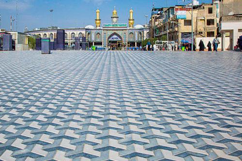 بابالقبله حرم مطهر حسینی پس از اتمام بازسازی/ گزارش تصویری