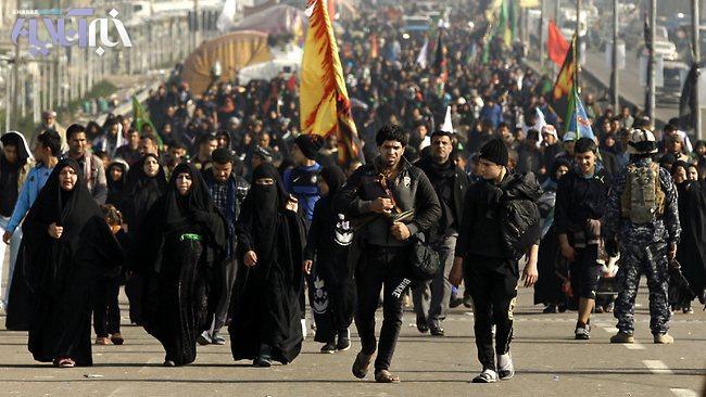 پیادهروی سید عمار حکیم به سوی کربلا
