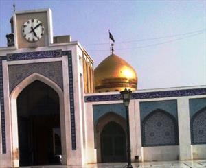 اتمام بازسازی کتیبه ورودی حرم حضرت زینب (س)