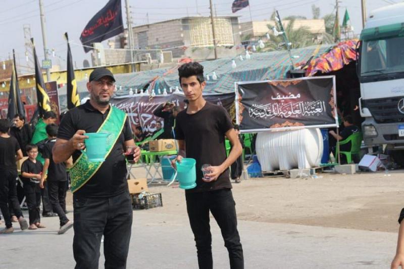 حرم امام علی (ع) پذیرائی از زائران اربعین را آغاز کرد