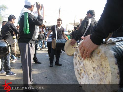 تاسوعای بارانی در اهواز / ارسالی از خادمین افتخاری
