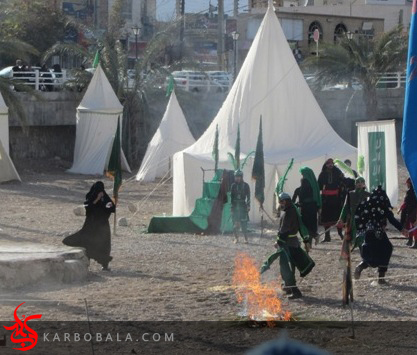 مراسم تعزیه خوانی در تفت / ارسالی از خادمین افتخاری