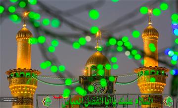 تصاویری از حرم مطهر حضرت عباس (ع) در اعیاد شعبانیه