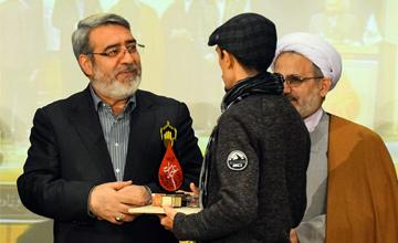 آیین اختتامیه سوگواره عبرات با حضور وزیر کشور برگزار شد + تصاویر