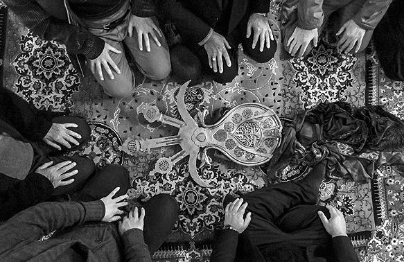 آیین سنتی علم بندان در ماسوله