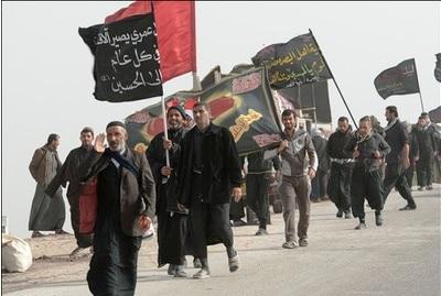 آغاز پیاده روی اربعین حسینی(ع)، ۵۵۳ کیلومتر تا کربلا/ فیلم