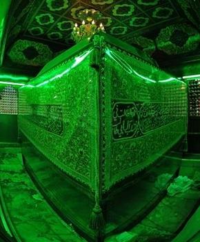 تصاویری از داخل ضریح حضرت عباس علیهالسلام