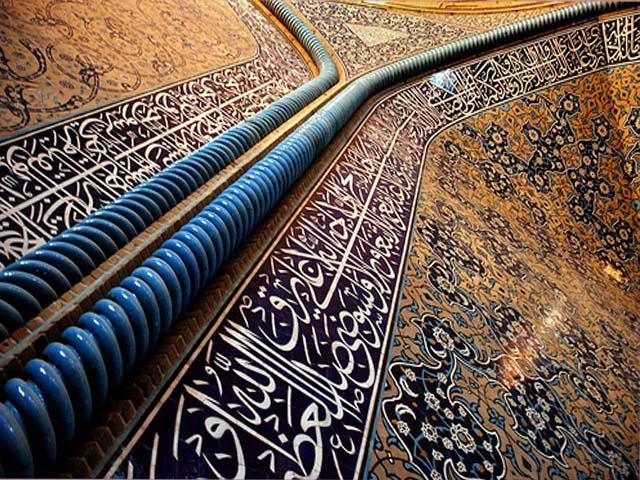 کدام معمار ایرانی حرم امام حسین(ع)را مرمت کرده است؟