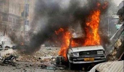 انفجار انتحاری در غرب الرمادی