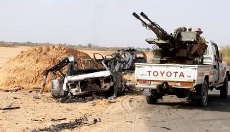 بیعت گرفتن داعش از لیبیاییها با کمک یک سعودی