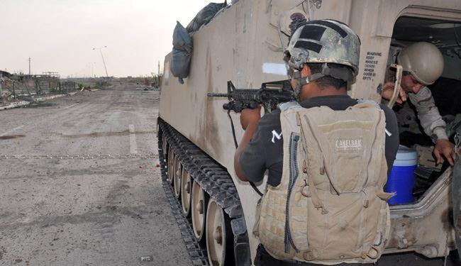 هلاکت والی داعش در غرب الانبار