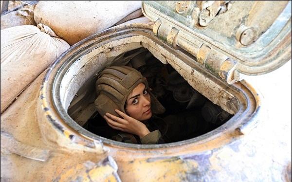 زنان گارد ریاست جمهوری سوریه در خط مقدم جنگ