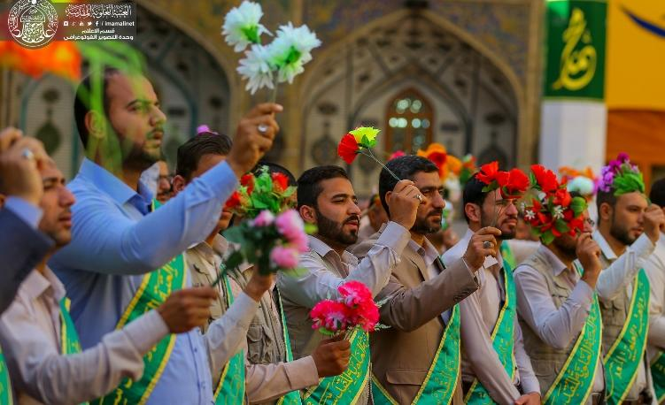 تصاویر جشن میلاد امام حسین (ع) در حرم امام علی (ع)
