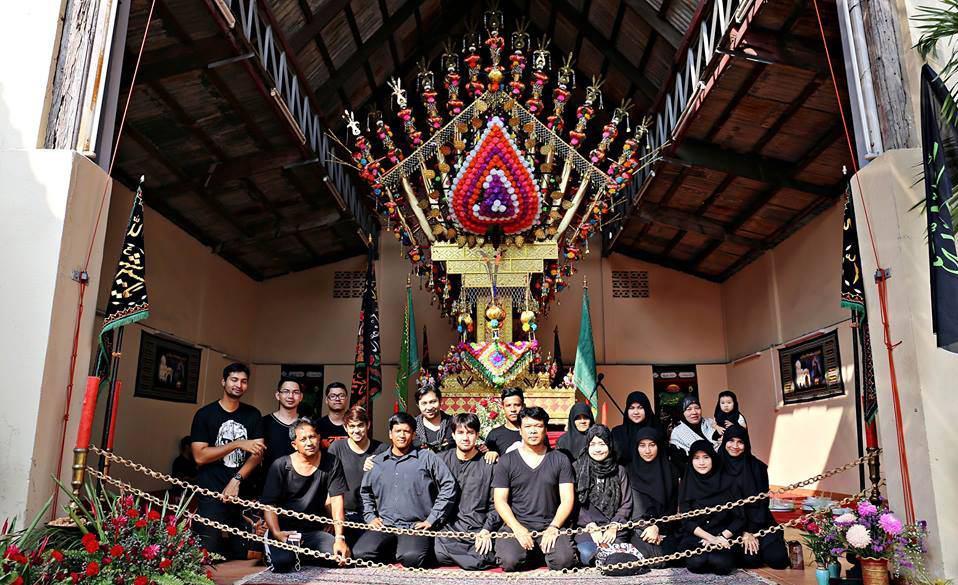 گزارش تصویری از مجلس عزای امام حسین (ع) در تایلند