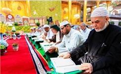 برگزاری محافل ترتیلخوانی قرآن در حرم حضرت عباس (ع)