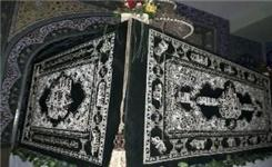 رونمایی روکش مضجع مطهر حضرت عباس (ع)