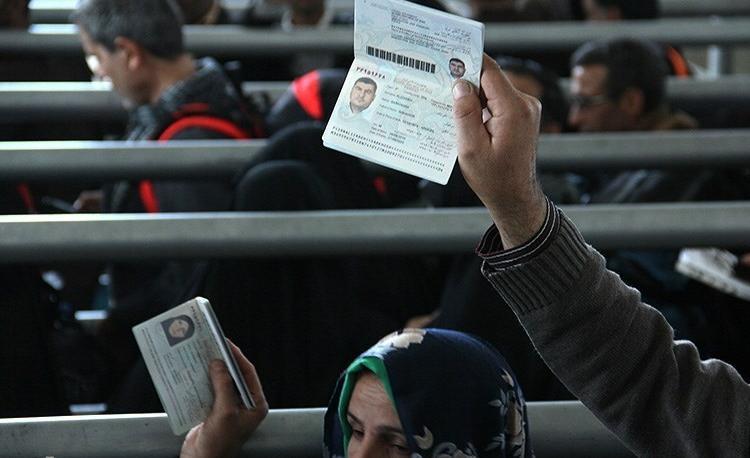 اینفوگرافی تقسیمبندی زائران استانهای کشور برای تردد از مرزها