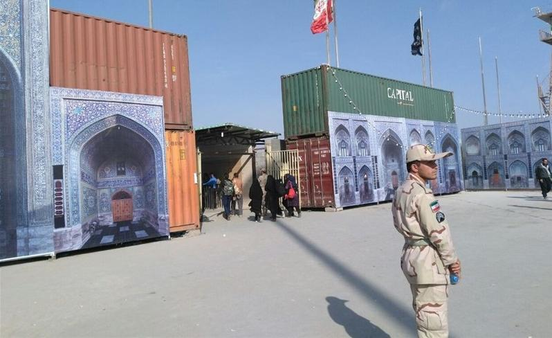 مرز مهران توسط نیروهای عراقی با نیوجرسی بسته شد/ سرگردانی زائران اربعین در مرز مهران