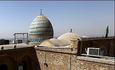 گزارش تصویری مقبره منصوب به حضرت شهربانو (س)