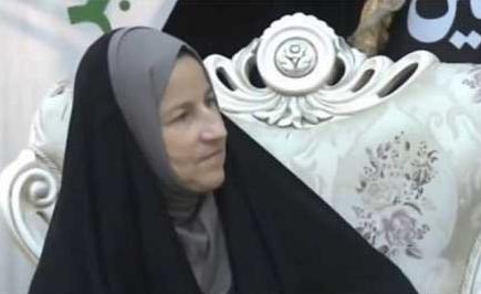 حجاب سفیر استرالیا در کربلا