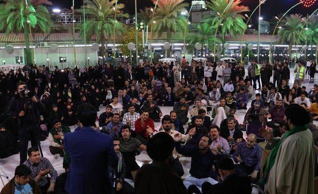 اولین شب از محافل بهار علوی در حرم حسینی برگزار شد