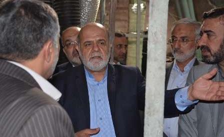 بازدید سفیر ایران از پروژه های طرح توسعه حرم امام حسین (ع) در کربلا