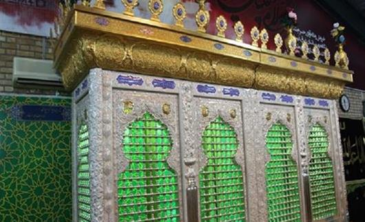 پروژه ساخت ضریح خیمهگاه امام حسین (ع) و حضرت قاسم (ع) در بوشهر
