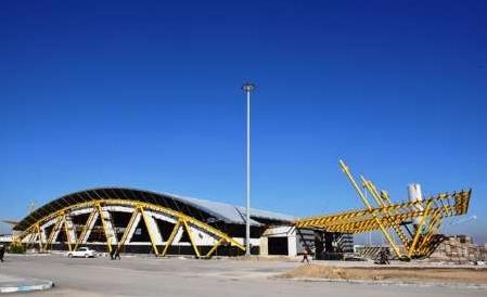 ساخت سالن پایانه مرزی شلمچه به پیشرفت 75 درصدی رسید