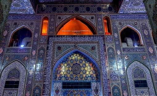 استقرار مبلغه های ایرانی در صحن های مطهر کربلا