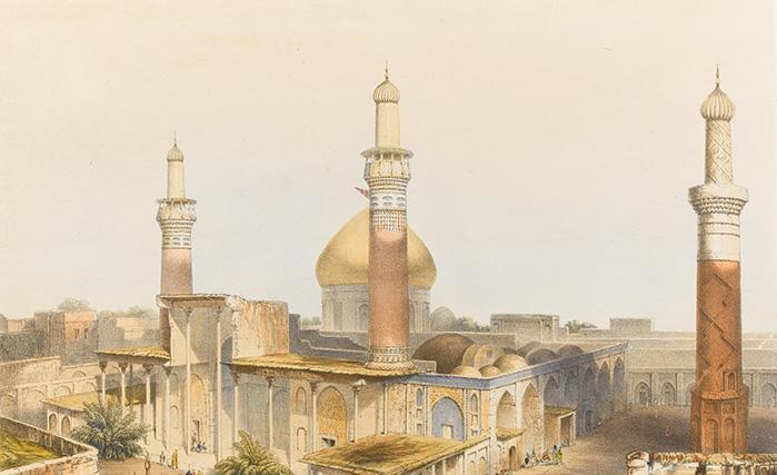 نگارهای 150 ساله از حرم حضرت امام حسین (ع) + تصویر