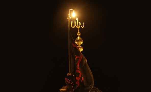 تعویض پرچم مرقد مطهر حضرت سیدالشهداء (ع)